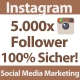 5.000 Instagram Follower für Ihren Account